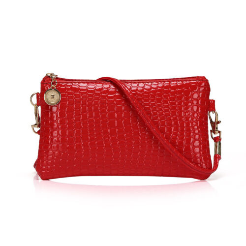 Fashion Women Handbag Shoulder  Purse Messenger Crocodile Crossbody Bag