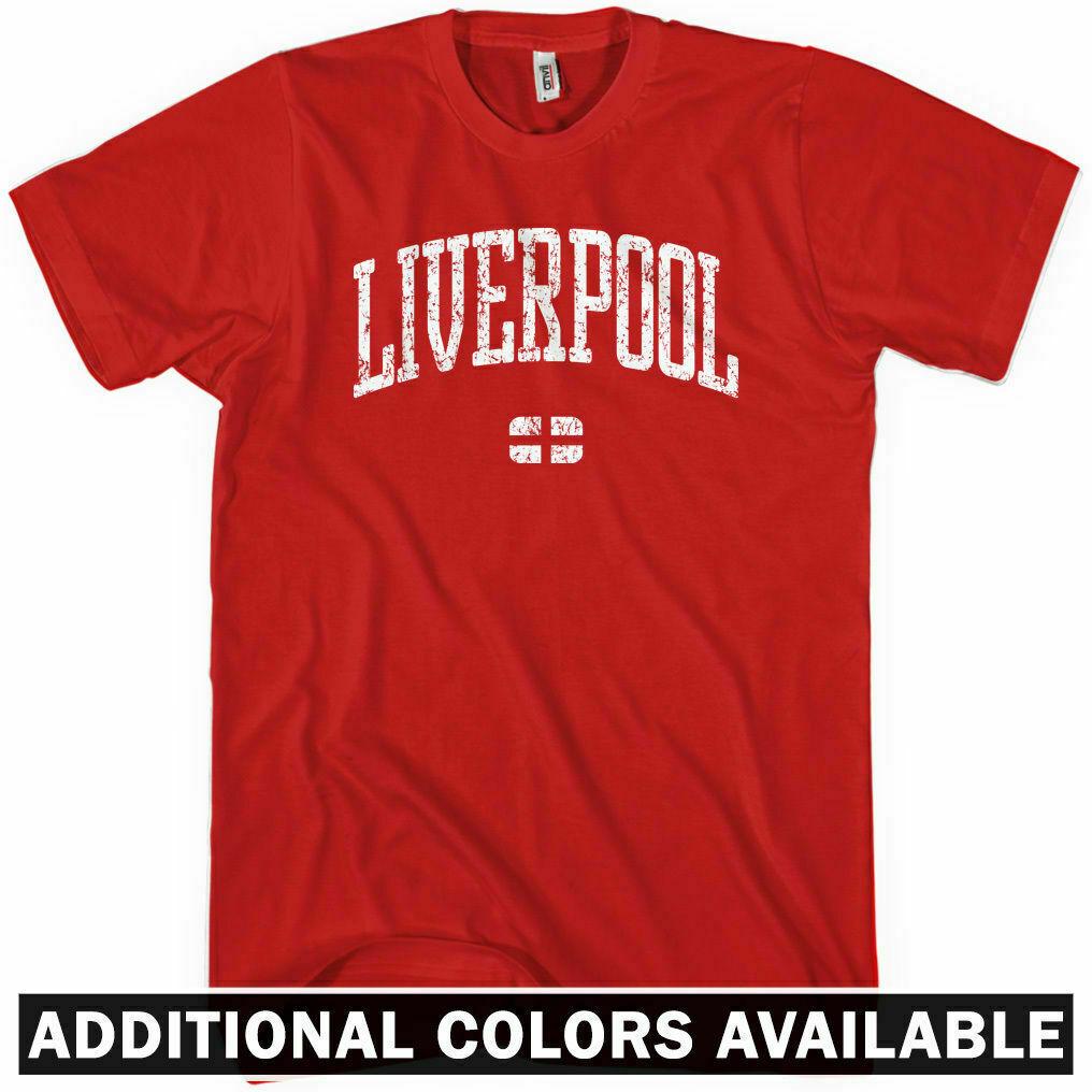 Calm Down I/'m A Scouser Keep Liverpool Merseyside Funny Gift T-Shirt S-5XL