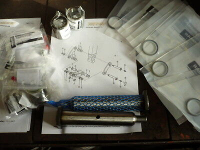 Dichtring Dichtung Dichtsatz Yanmar SV17 Minibagger 933125-38600 24315-000300