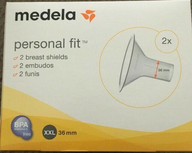 36mm Breast Sh PersonalFit Breast Shields Size XXL Medela Breast Pump Shields