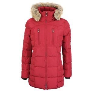 Details about Wellensteyn Ladies' Winter Jacket Coat Hollywood Red Holl 560 Dark Red show original title