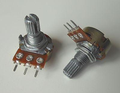 5pcs 47K Ω Ohm WTH118 WTH118-1A 2W Linear Potentiometer