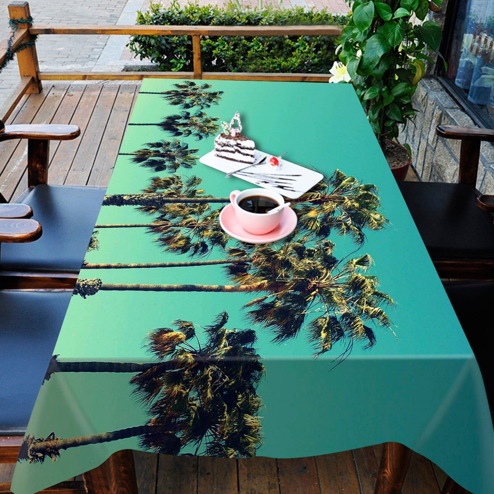 3D Sky Tree939 Tablecloth Table Cover Cover Cover Cloth Birthday Party Event AJ WALLPAPER UK 6da2a5