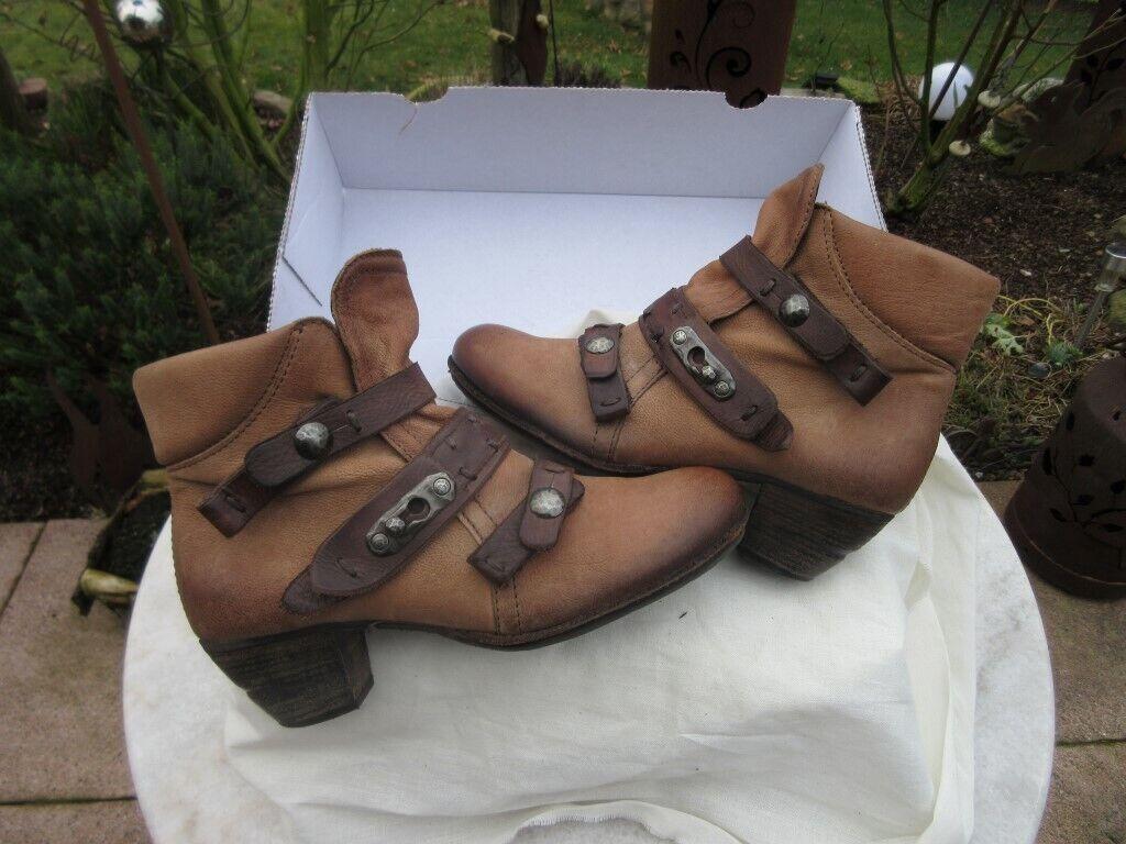 Stiefelette Airstep braun 39 Stiefel Stiefel Leder