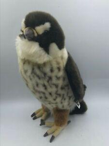 Official-Hansa-Owl-Australian-Bird-Plush-Kids-Soft-Stuffed-Toy-Realistic-Animal