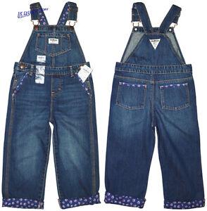 attraktive Designs unverwechselbarer Stil neue angebote OshKosh B'gosh Mädchen Latzhose Overall Kinder Jeans Blau ...