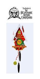 NIGHTMARE BEFORE CHRISTMAS CHRISTMASTOWN CUCKOO CLOCK | eBay