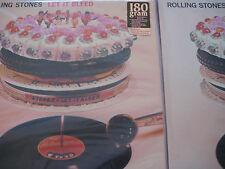ROLLING STONES Let It Bleed RARE U.S. PRESSING BLACK & CLEAR Sealed 180G 2 LPS