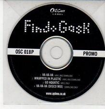 (DG353) Find Gask, Va-va-va / Wrapped In Plastic - DJ CD