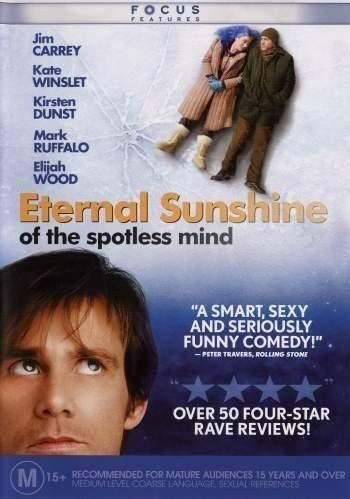 1 of 1 - ETERNAL SUNSHINE OF THE SPOTLESS MIND DVD=REGION 4 AUSTRALIAN=NEW AND SEALED