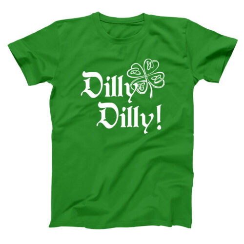 Irish Dilly Dilly Beer  This St Patricks Day Green Basic Men/'s T-Shirt