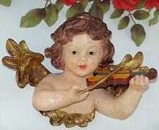 Engel Türbogen Wanddeko Engelfigur Barock Putte Wandengel gold Skulptur Figur