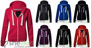 NEW-LADIES-WOMENS-PLUS-SIZE-FRONT-ZIP-HOODED-SWEATSHIRT-PLAIN-HOODIE-JACKET-TOP