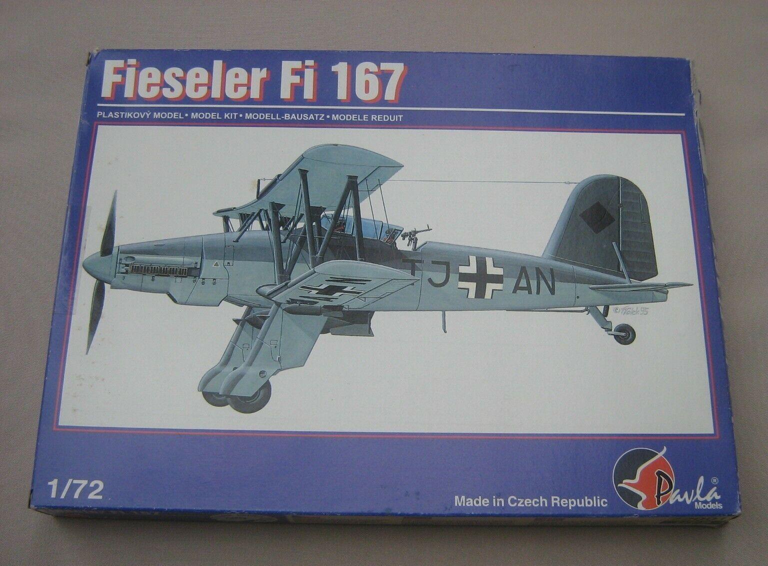 Pavla 1 72 Fieseler Fi-167 (72001)