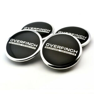 4x-62mm-OVERFINCH-Nabendeckel-Felgendeckel-fuer-Land-Rover