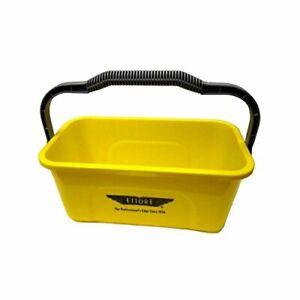 Ettore 3 Gallon Compact Super Bucket with Ergonomic Handle, 1 Pack (Original Ver