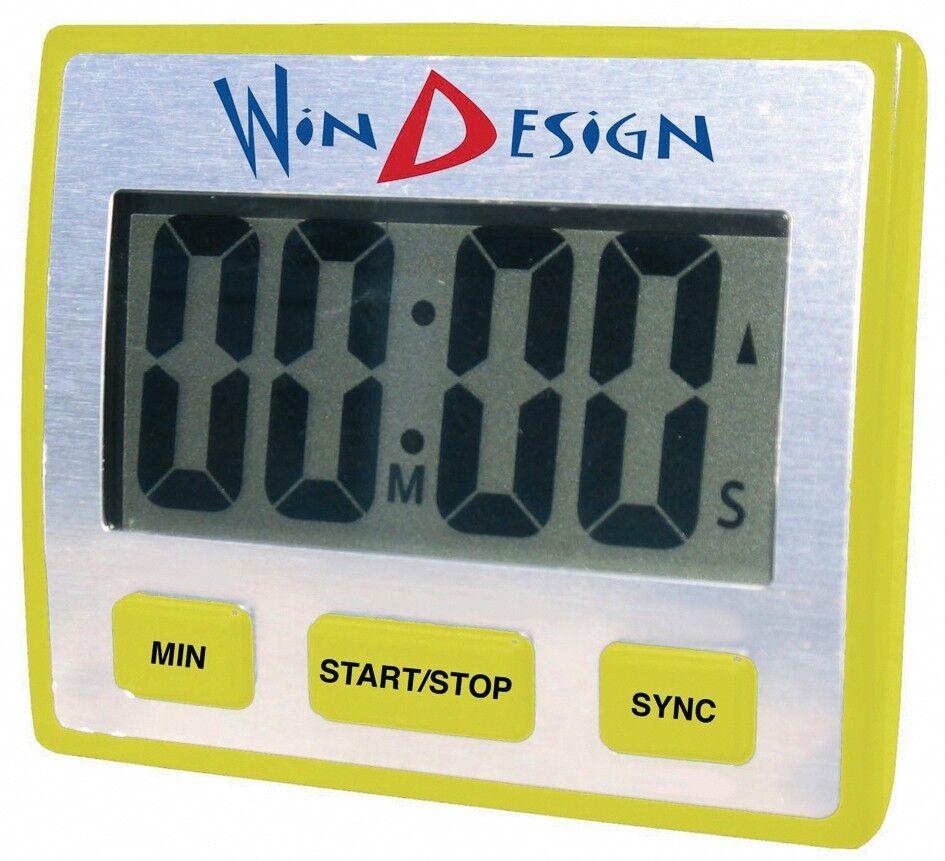 Optiparts Ottimista Windesign Digitale Regatta Timer orologio per Scafo Asta