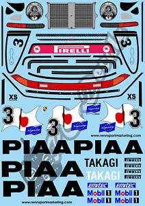 1-10-Decal-Set-Porsche-911-PIAA-Tamiya-Schumacher
