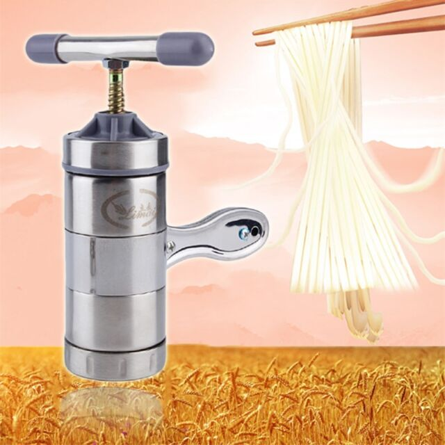 Kitchen Stainless Steel Dough Pasta Noodle Maker Press Spaghetti Machine YG