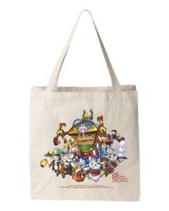 NEW Final Fantasy XIV Canvas Tote Bag Fan Fest 2018 Las Vegas Fanfest 14