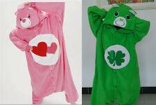 Unisex Adult Onesie Kigurumi Pajama Anime Cosplay Costume Dress Care Bear #112