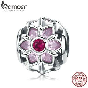 Bamoer-S925-Sterling-Silver-charm-Bead-Flower-Dance-With-cz-Fit-Women-Bracelet
