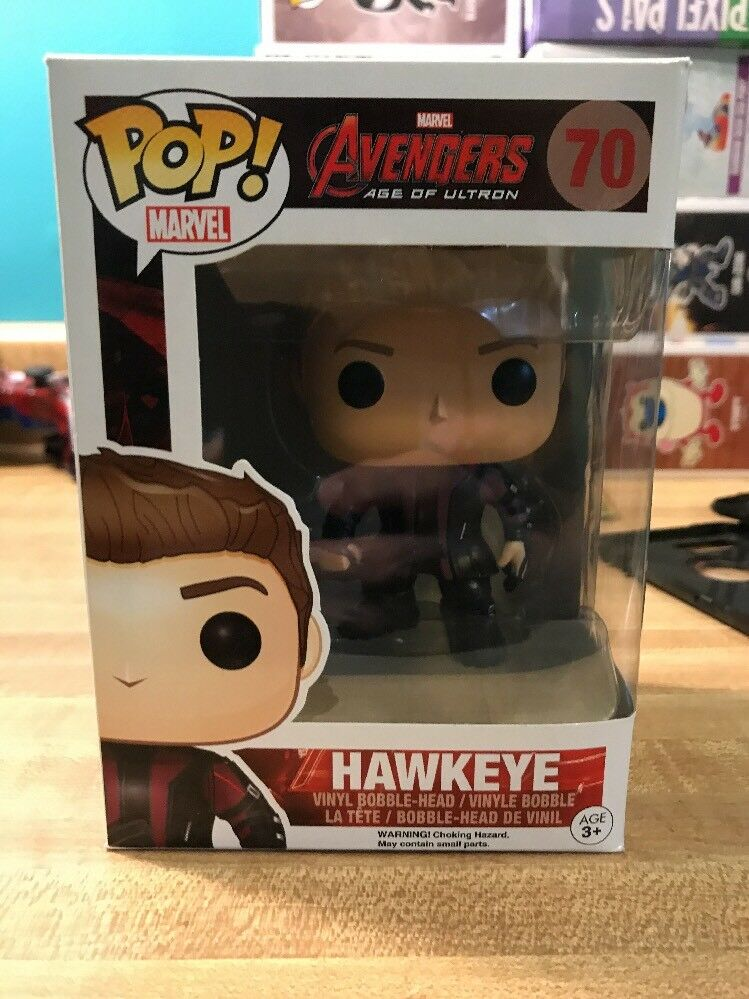 FUNKO POP  MARVEL  AVENGERS 2 - HAWKEYE 70 4781 VINYL FIGURE