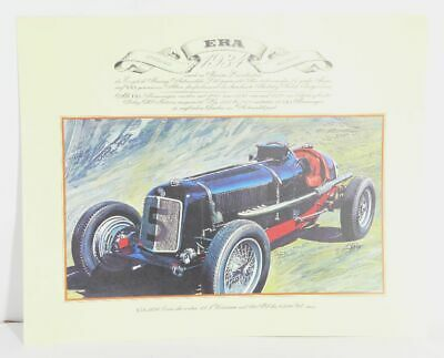 Delage 1905  Oldtimer Sportwagen  Kunstdruck Poster Bild   41x33 cm