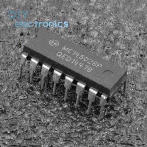 1PCS MC145028P MC145028 DIP-16 Encoder and Decoder Pairs CMOS IC US