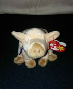 Ty Beanie Baby Knuckles Pig 1999 9 inch