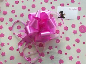 Rotolo regalo Wrap 2 M x 80 cm-ROSA BABY SHOWER GIRL GRATIS Tirare Fiocco & CARD  </span>