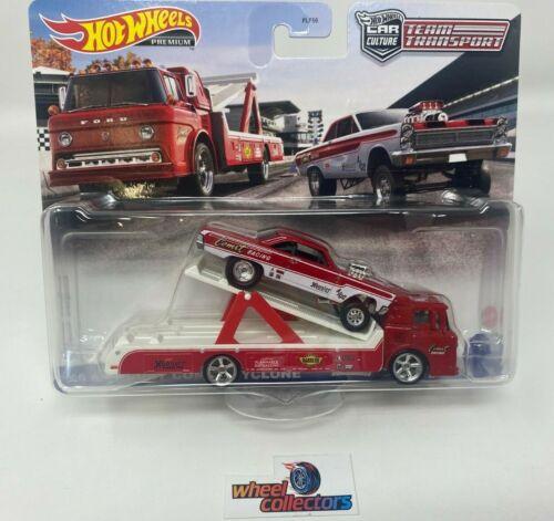 /'65 Mercury Comet Cyclone /& Ford C-800 2021 Hot Wheels Team Transport Case K