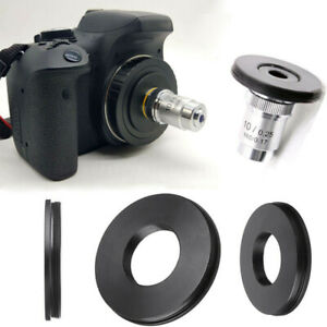 Adattatore-lente-RMS-microscopio-Obiettivo-di-Canon-EOS-fotocamera-DSLR-EF-apparecchiature-da