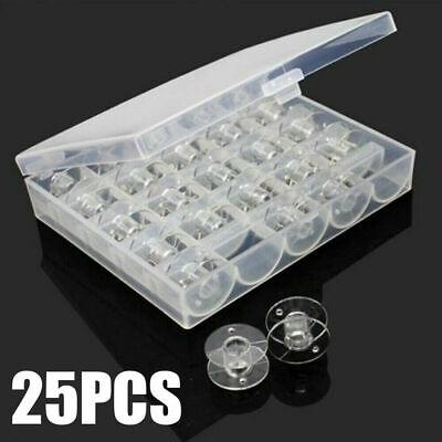 25pcs Spulen-Nähmaschinenspulen mit Nähgarn für Nähmaschine