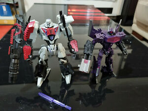 Transformers War for Cybertron Megatron and Shockwave
