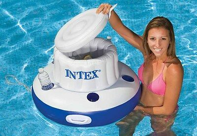 Intex Mega Chill Getränkekühler /& Halter Poolbar