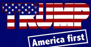 Wholesale-Lot-of-6-Trump-America-First-USA-Flag-Blue-Bumper-Sticker