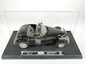 New-Ray-Plymouth-Prowler-Black-New-in-Display-Case-1-32-Scale-Diecast