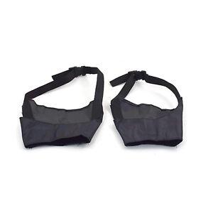 Bonzo-Bozal-con-correa-ajustable-de-seguridad-negro-articulos-de-seguridad-para-todos-los-perros