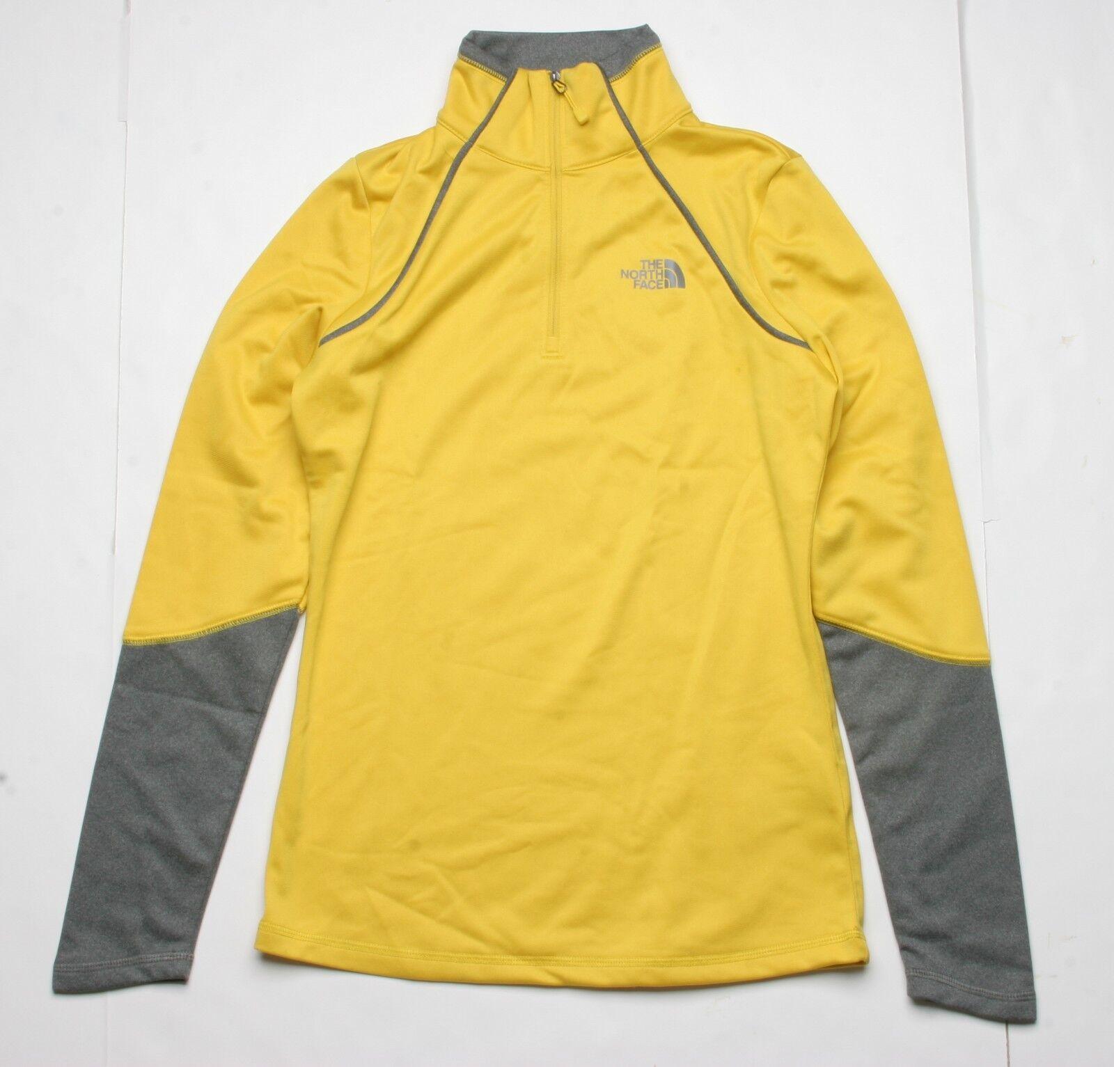 The North Face Women Half Zip Fleece (XS) Yellow