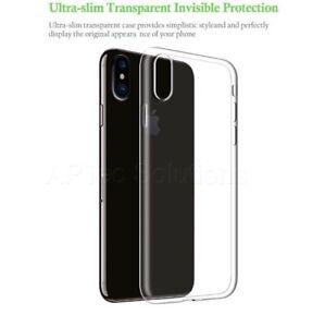 coque transparente iphone x slim