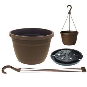 Lot-of-1-2-5-10-25-Milano-Hanging-Planter-Polypropylene-Basket-Pots