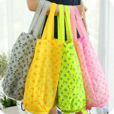 New Cute Cartoon Foldable Reusable Eco Shopping Tote Bag Accessories Handbag CN