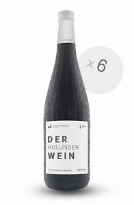 6er Box DER HOLUNDERWEIN 1L 12,5 % Vol. Frucht-Dessertwein