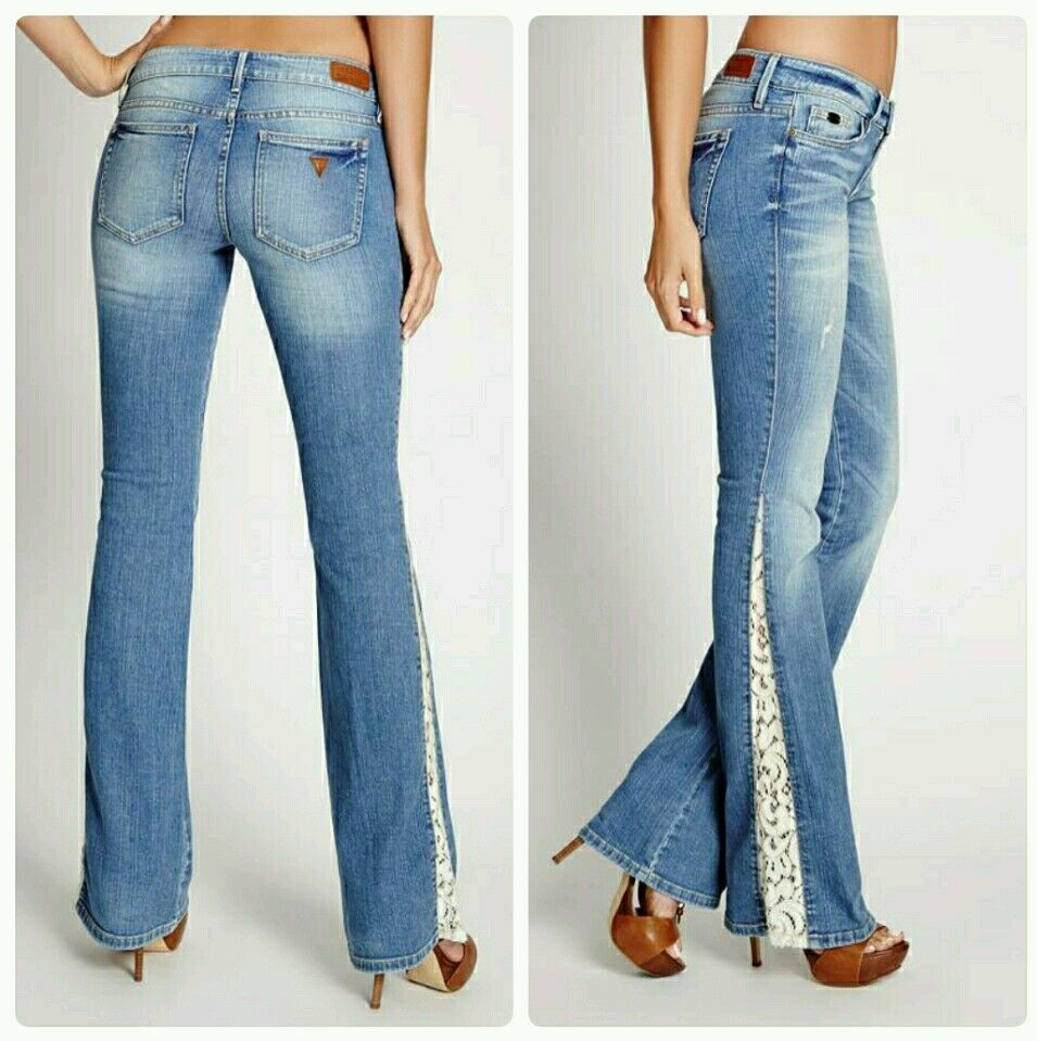 ♡♡ GUESS Premium Flare 60' Sexy Jeans