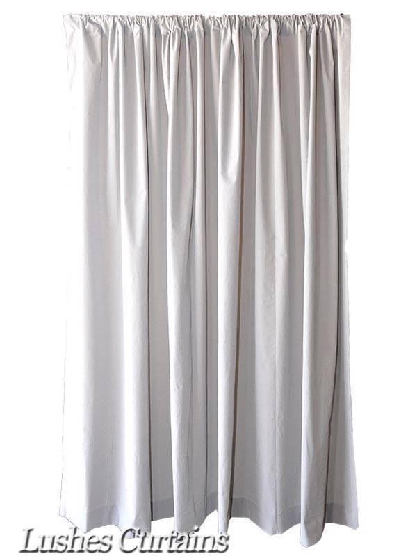 183cm Hoch Grau samt Vorhang Fläche mit   Stab Tasche Oben Drapiert | Ausgezeichnetes Preis