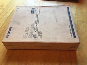 CAT CATERPILLAR 216 226 228 STEER LOADER SKID PARTS BOOK MANUAL 4NZ 5FZ 6BZ 2001