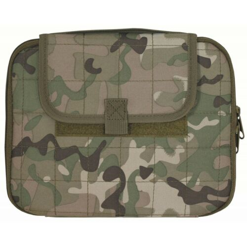 NEU US Tactical gepolstert Tablet-Tasche MOLLE 25x20x2,5 cm Outdoor Hülle