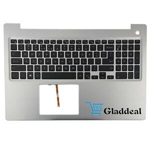 New For Dell Inspiron 15 5570 5575 Palmrest English Us Backlit Keyboard Mr2kh Ebay
