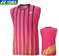 Free Shipping 2014 Men's Badminton Sports Clothing Sleeveless T-shirt 12105y